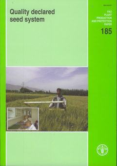 QUALITY DECLARED SEED SYSTEM (PLANT PRODUCTION AND PROTECTION N. 185)