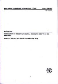 RAPPORT DE LA CONSULTATION TECHNIQUE SUR LA CONDUITE DE L'ETAT DU PAVILLON (RAPPORT SUR LES PECHES E