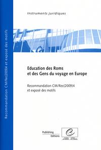 EDUCATION DES ROMS ET DES GENS DU VOYAGE EN EUROPE