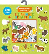 POCHETTE A GOMMETTES - LES ANIMAUX DE LA FERME
