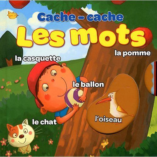 CACHE-CACHE LES MOTS