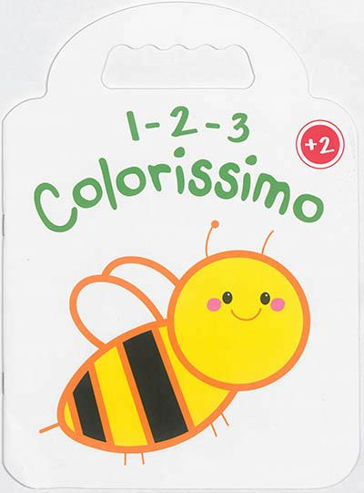 1 2 3 COLORISSIMO ABEILLE +2