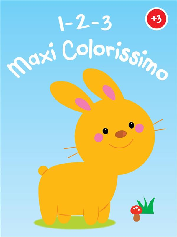 123 MAXI COLORISSIMO - LAPIN