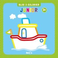BLOC A COLORIER JUNIOR DES 3 ANS (BATEAU)