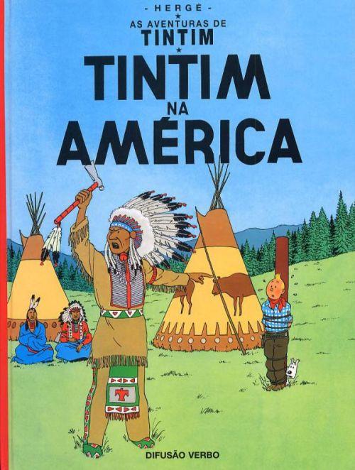 TINTIN EN AMERIQUE (PORTUGAIS VERBO)