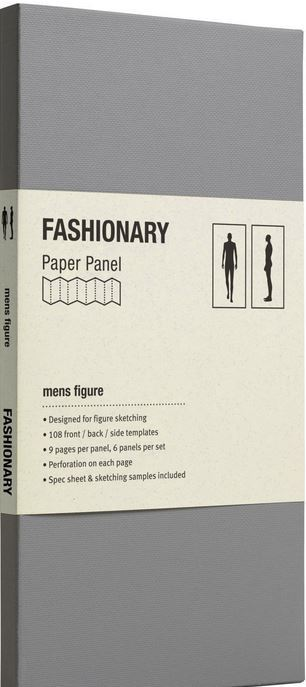 PAPER PANEL MENS FIGURE /ANGLAIS