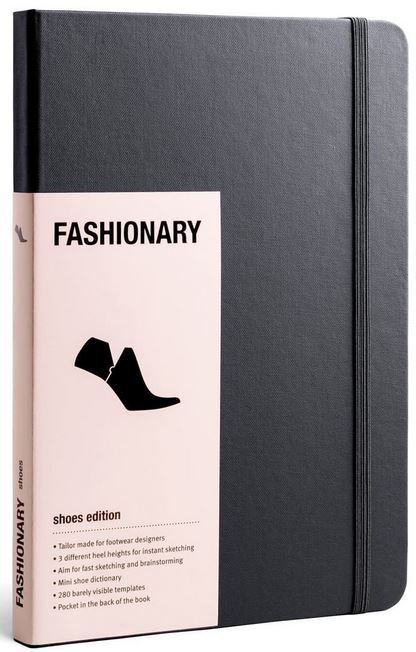FASHIONARY SHOE SKETCHBOOK /ANGLAIS