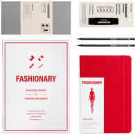 FASHIONARY ESSENTIAL BOXSET RED COLOR VERSION /ANGLAIS