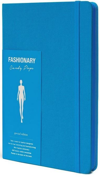 FASHIONARY CANDY POPS BERRYBLUE WOMENS A5 /ANGLAIS