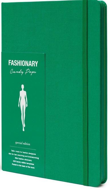 FASHIONARY CANDY POPS MINT WOMENS A5 /ANGLAIS