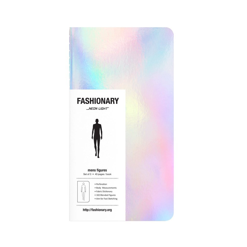 FASHIONARY NEON LIGHT MEN (3 IN A PACK) /ANGLAIS