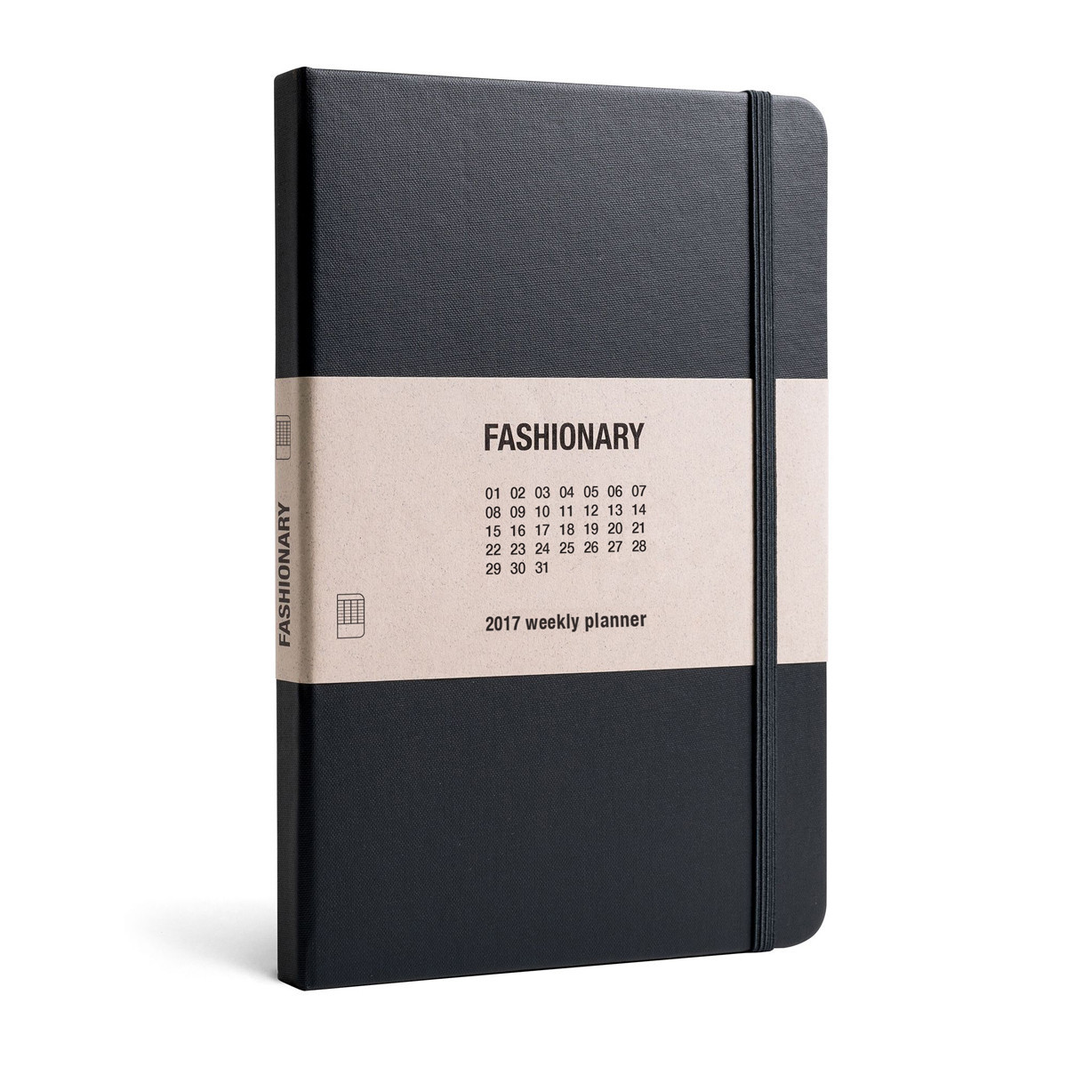 FASHIONARY A5 WEEKLY PLANNER /ANGLAIS