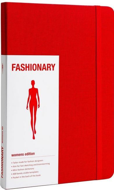 FASHIONARY WOMEN RED A5 /ANGLAIS