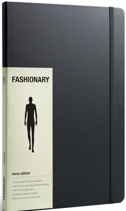 FASHIONARY A4 MEN /ANGLAIS