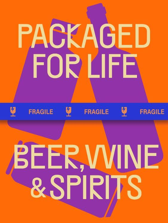 PACKAGED FOR LIFE: BEER, WINE AND SPIRITS /ANGLAIS