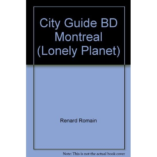 CITY GUIDE BD MONTREAL (LONELY PLANET)