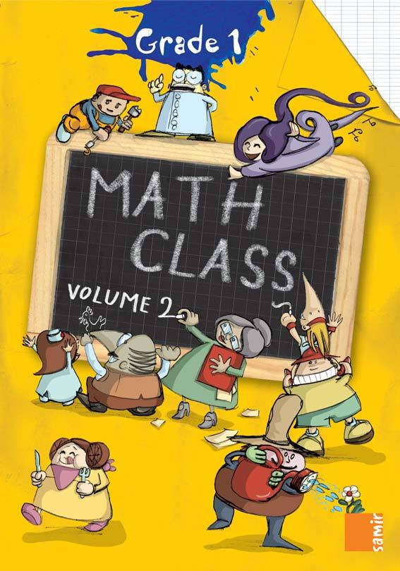 MATH CLASS GRADE 1 - WORKBOOK VOLUME 2