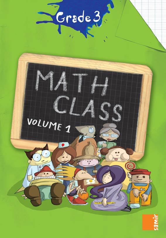 MATH CLASS GRADE 3  WORKBOOK VOLUME 1