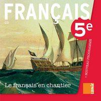 LE FRANCAIS EN CHANTIER - CD 5E