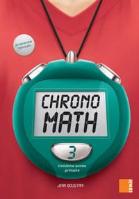 CHRONOMATH 3  LIVRE-CAHIER