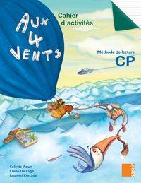 CAHIER D'ACTIVITES CP - AUX 4 VENTS CP