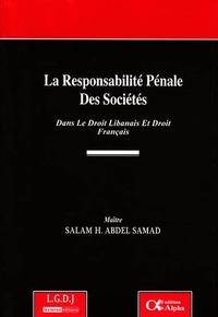 LA RESPONSABILITE PENALE DES SOCIETES