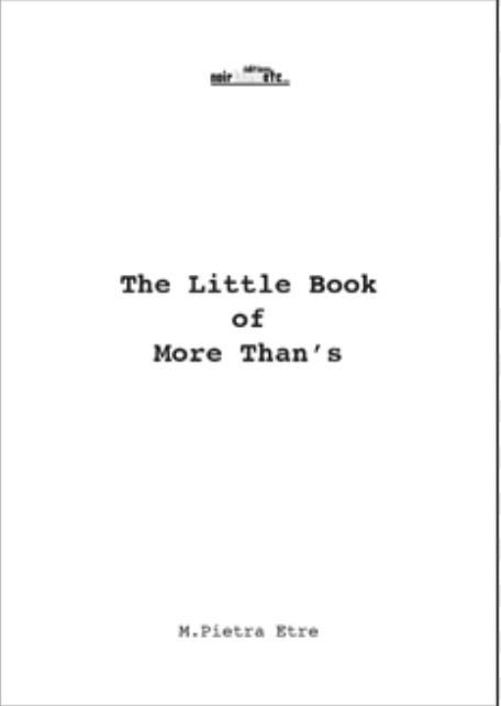 THE LITTLE BOOK OF MORE THAN S