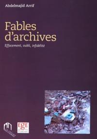 FABLES D'ARCHIVES