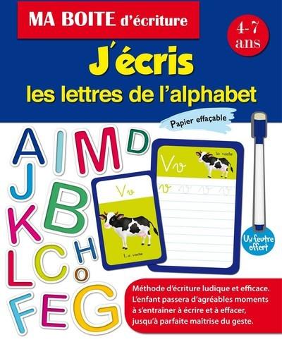 J'ECRIS LES LETTRES DE L'ALPHABET