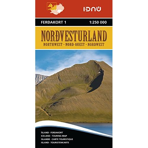 AED ISLANDE NORD OUEST 1  1/250.000