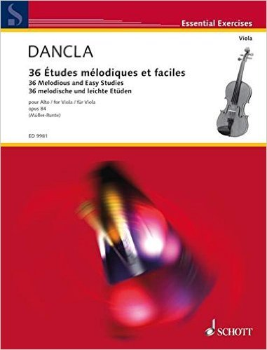 36 MELODIOUS AND EASY STUDIES OP. 84 ALTO