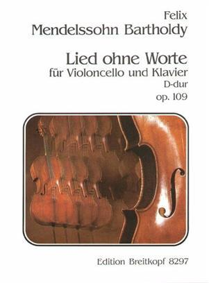 LIED OHNE WORTE OP. 109 VIOLONCELLE