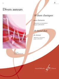 18 DUOS CLASSIQUES VOLUME 2