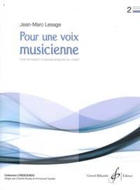 POUR UNE VOIX MUSICIENNE VOLUME 2
