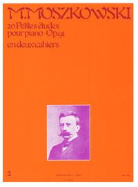 MOSZKOWSKI: 20 PETITES ETUDES OP91 VOLUME 2 PIANO PIANO