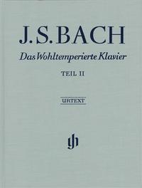 LE CLAVIER BIEN TEMPERE 2 BWV 870-893 (RELIURE LIN)