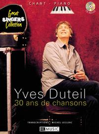 30 ANS DE CHANSONS + CD --- CHANT ET PIANO