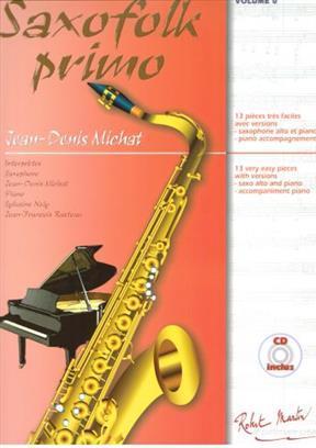 SAXOFOLK PRIMO SAXOPHONE +CD