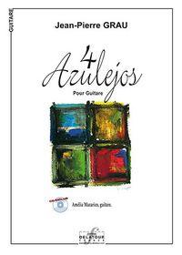 4 AZULEJOS POUR GUITARE