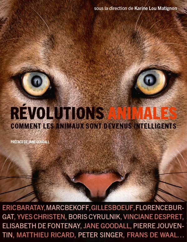 REVOLUTIONS ANIMALES - COMMENT LES ANIMAUX SONT DEVENUS INTELLIGENTS