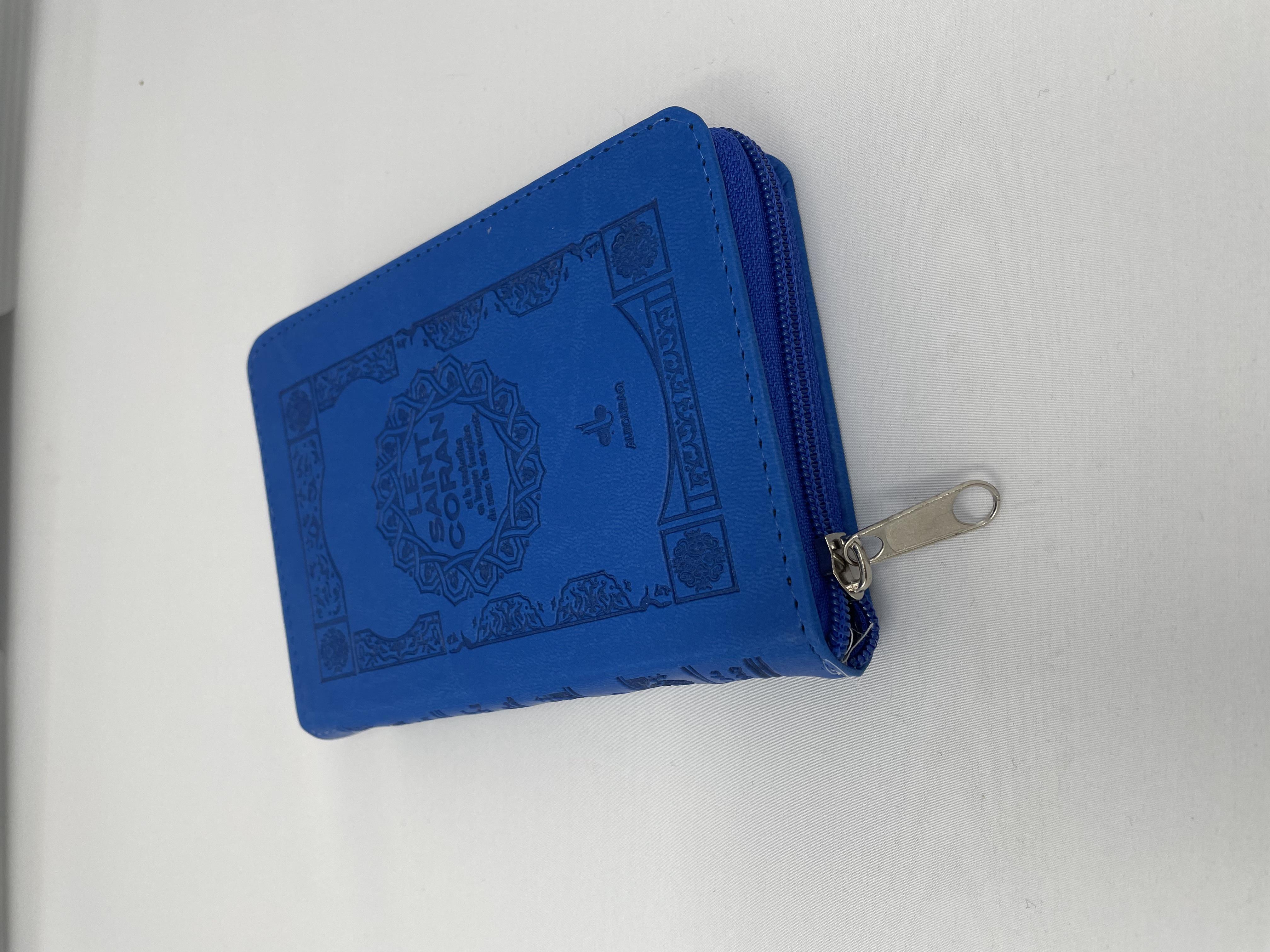 SAINT CORAN FRANCAIS POCHETTE (11 X 15 CM) - COUVERTURE BLEUE ELECTRIQUE