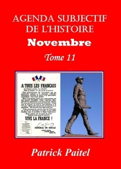 AGENDA SUBJECTIF DE L'HISTOIRE NOVEMBRE T.11