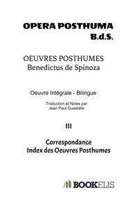 OEUVRES POSTHUMES III
