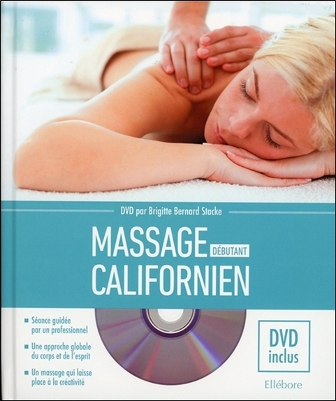 MASSAGE CALIFORNIEN - DEBUTANT - LIVRE + DVD