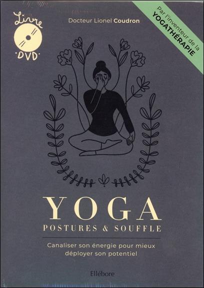 YOGA, POSTURES & SOUFFLE - LIVRE + DVD