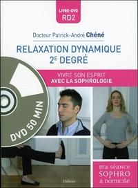 RELAXATION DYNAMIQUE 2E DEGRE - VIVRE SON ESPRIT AVEC LA SOPHROLOGIE - LIVRE + DVD