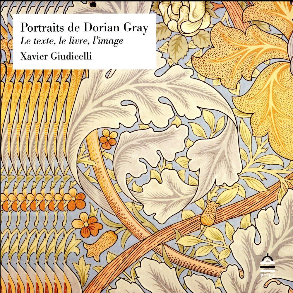 PORTRAITS DE DORIAN GRAY