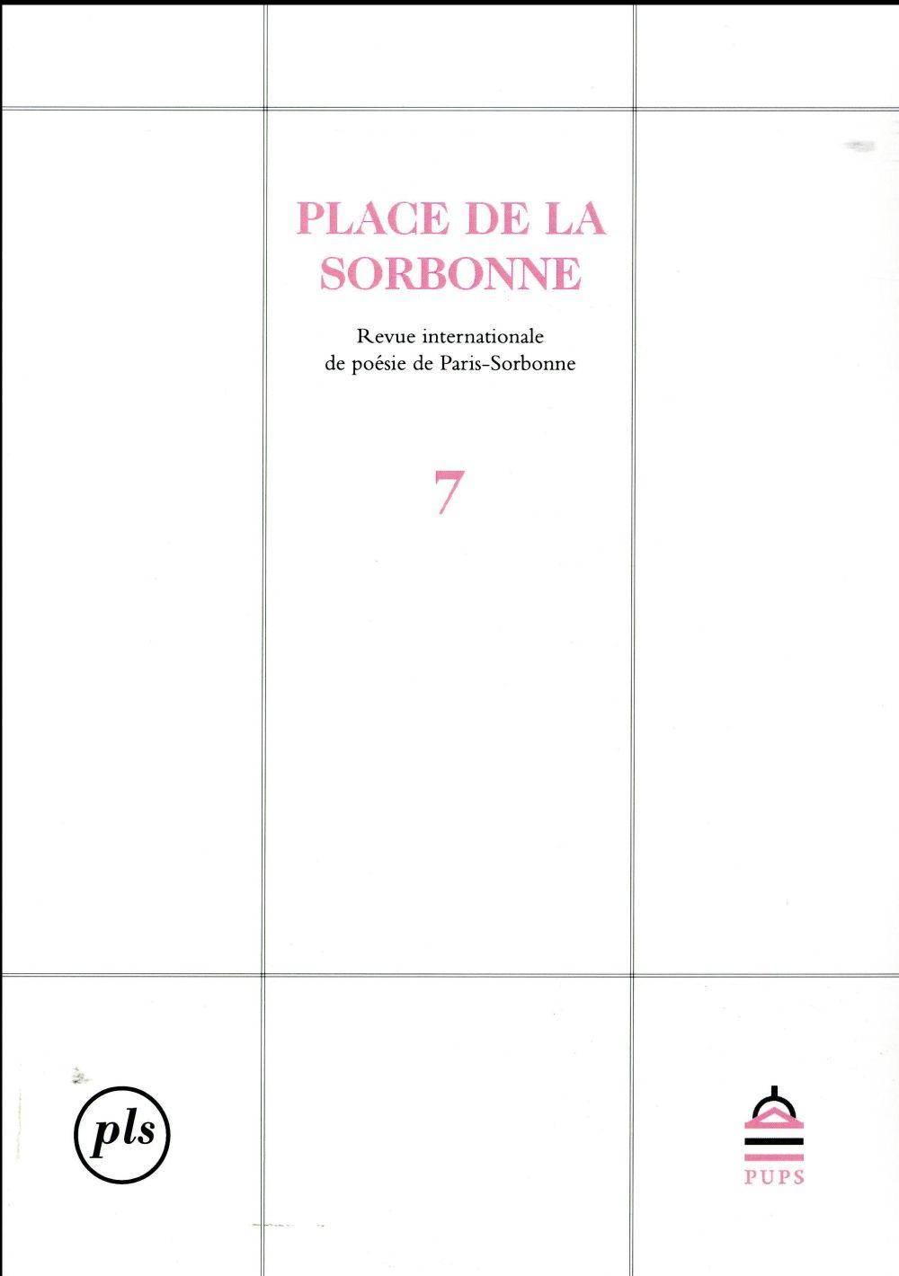 PLACE DE LA SORBONNE 7