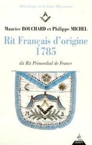 LE RIT FRANCAIS D'ORIGINE 1785
