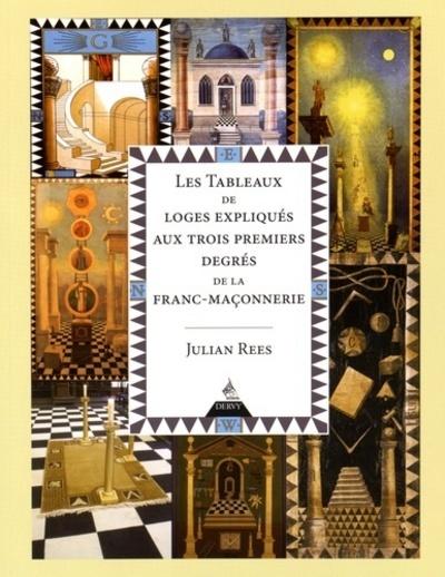 LES TABLEAUX DE LOGES EXPLIQUES AUX TROIS PREMIERS DEGRES DE LA FRANC-MACONNERIE BLEUE